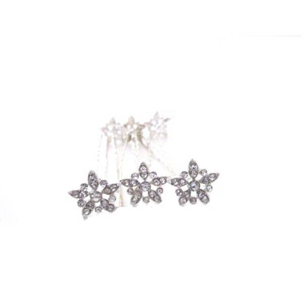 Diamante Vintage Flower Bridal Hair Pins Ca056 Wedding Hair Accessories